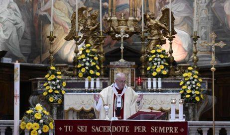 Papa Francesco e il coronavirus