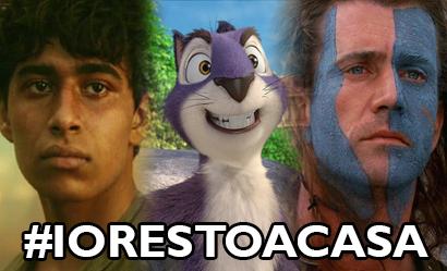 #iorestoacasaeguardounfilm – Tigri, scoiattoli e un cuore impavido!