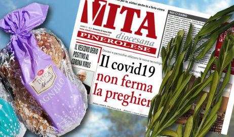 """Tre per uno a Villar Perosa: Ulivo, """"Vita"""" e Colomba pasquale direttamente a casa!"""