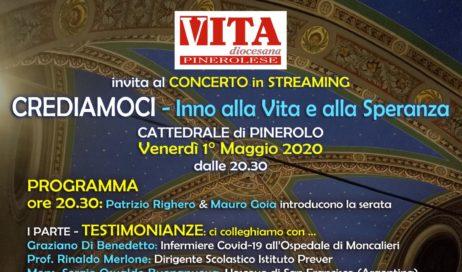 1 maggio – In diretta dalla Cattedrale un concerto per la Vita e la Speranza