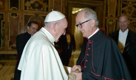 Monsignor Derio: mi ha telefonato Papa Francesco!