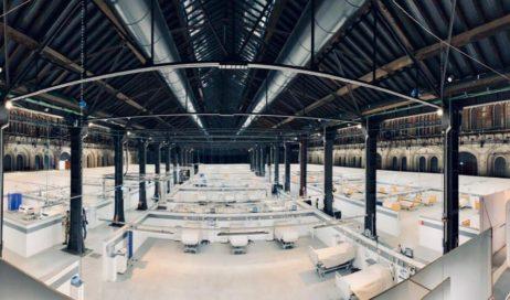 #coronavirus. Pronta la nuova area sanitaria delle OGR di Torino