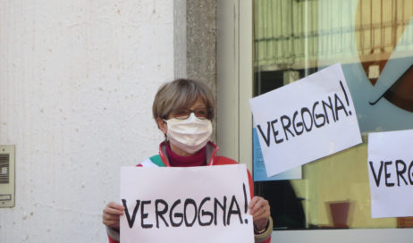 Perosa Argentina. L'Unicredit riapre (a giorni alterni) il 15 aprile, il bancomat l'8