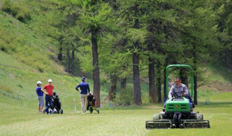 A Pragelato si apre la stagione del Golf
