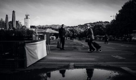 [ photogallery ] Il mercato di Pinerolo in tempo di pandemia