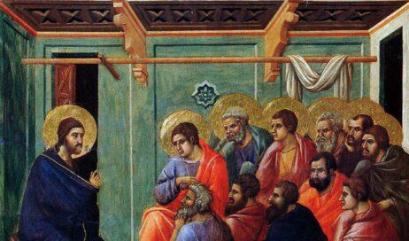 Soffiò e disse loro: Ricevete lo Spirito Santo
