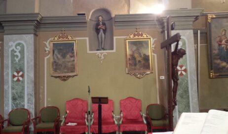 Pragelato. La chiesa di Ruà ha di nuovo la sua Via Crucis