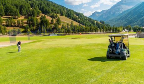 Pragelato. Il golf come punto di forza per il turismo