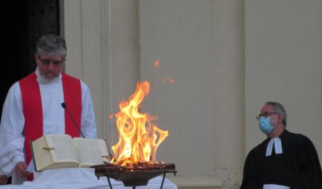 [Photogallery]. Veglia ecumenica di Pentecoste a Villar Perosa