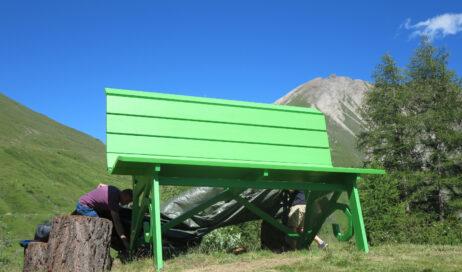 Arrivano in val Chisone la Big Bench a Pian dell'Alpe e a Pequerel