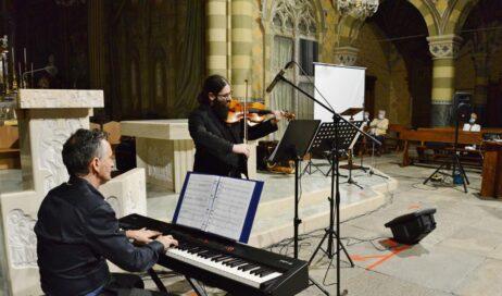 """[ photogallery ] A San Maurizio il primo concerto """"in presenza"""" è dedicato all'Africa"""