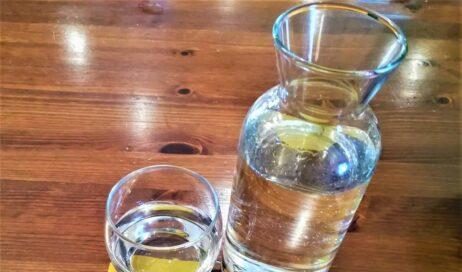 Anche un solo bicchiere d'acqua fresca