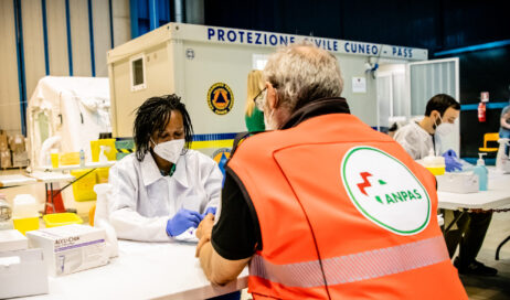 Arrivano dal Belgio gli operatori per i test sierologici all'ANPAS
