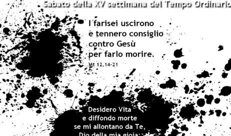 #incontrolaParola – 18 luglio 2020