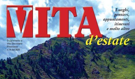 """La prima pagina del magazine """"Vita d'estate 2020"""