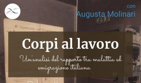 Frossasco. Il 5 settembre al Museo dell'Emigrazione una conferenza della storica Augusta Molinari