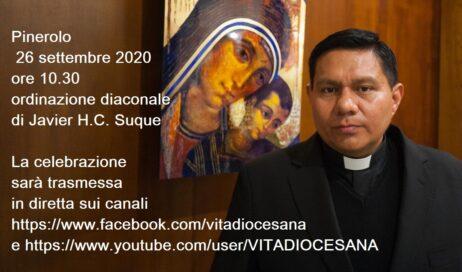 Pinerolo. Sabato 26 in Duomo sarà ordinato un nuovo diacono – Diretta streaming