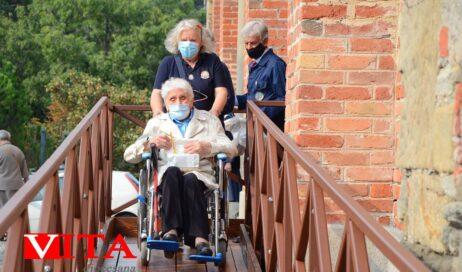 [ photogallery ] Messa dei malati a San Maurizio. Inaugurata la nuova rampa di accesso per disabili