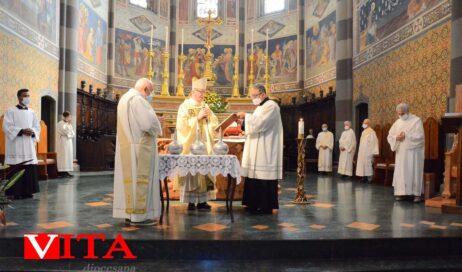 Triduo Pasquale: le celebrazioni con il vescovo Derio