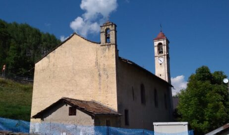 Pragelato. La chiesa di San Lorenzo si fa bella