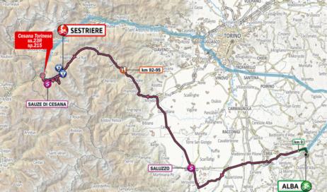 Giro d'Italia. Gli orari di chiusura delle strade e dei passaggi a Sestriere