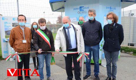 [photogallery]. Inaugurato il nuovo Punto Acqua Smat a Riva di Pinerolo