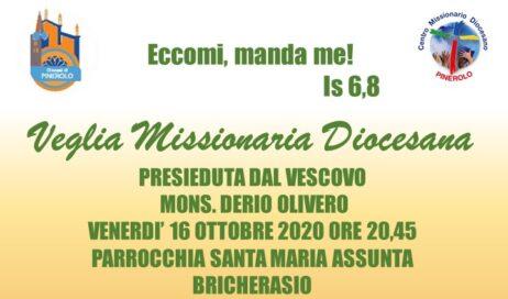 Venerdì 16 ottobre la veglia missionaria diocesana