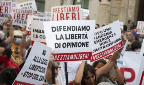 Il 18 ottobre a Torino una manifestazione contro il DDL Zan
