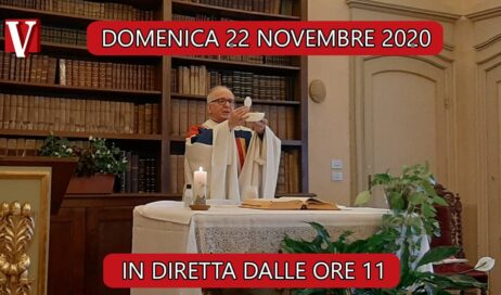 Domenica 22 novembre messa in streaming dal vescovado di Pinerolo
