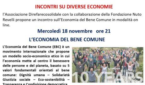 IL BENE COMUNE. Un seminario on-line