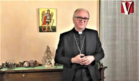 [ video ] Natale 2020. Gli auguri del vescovo Derio