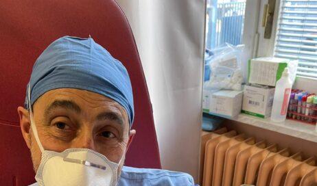 Pinerolo. Partite a San Silvestro le vaccinazioni anti-Covid ai primi operatori dell'Asl To3