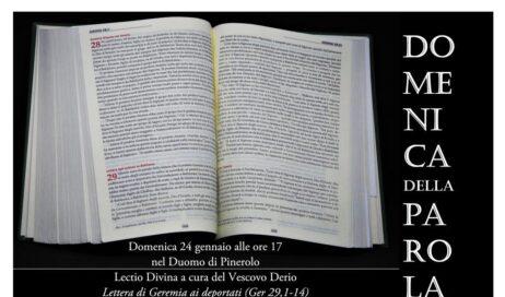 """Lectio divina del vescovo Derio in occasione della """"Domenica della Parola"""""""