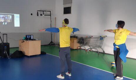 Porte. A pallavolo si gioca su Zoom con Sport Inclusion