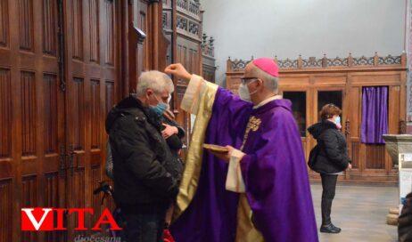 [ photogallery ] Il vescovo nell'omelia del mercoledì delle ceneri: la quaresima è un tempo per rifiorire