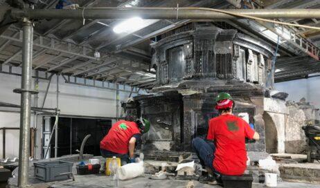 Torino. Concluso il restauro dell'altare del Bertola nella Cappella della Sindone