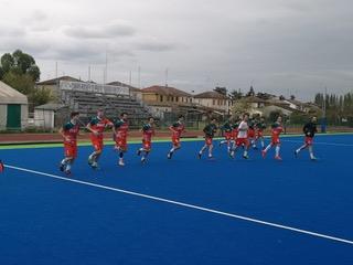 Hockey Prato. Sconfitta in rimonta per la A1M dell'Skf Valchisone a Bondeno