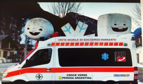 L'ambulanza medicalizzata resterà a Pragelato