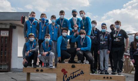 Il Curling Club Pinerolo campione d'Italia 2020-2021 (categoria Ragazzi)
