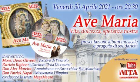 """Venerdì 30 aprile la presentazione del CD """"Ave Maria"""" in streaming sul canale YouTube di Vita Diocesana"""