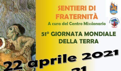 22 aprile. In occasione della Giornata della terra il Centro Missionario presenta un documentario sulle problematiche dell'ambiente