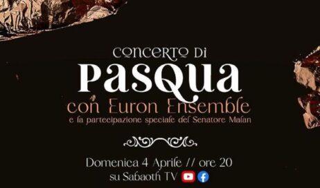 Concerto di Pasqua con Euron Ensemble… e Lucio Malan