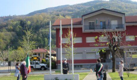Pinasca. Un 25 aprile… per pochi
