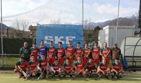 Villar Perosa. Skf Hockey Valchisone: successo per la A1M, doppio stop per A2F e B