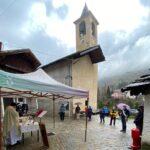Usseaux. Un po' di pioggia sulla festa patronale di Fraisse