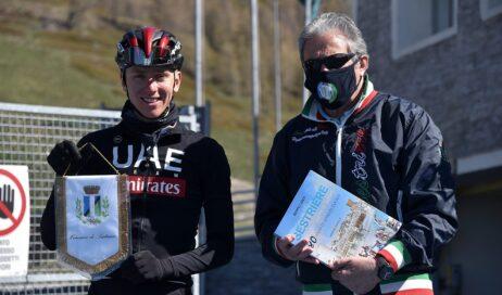 Sestriere. Tadej Pogačar prepara al Colle il bis al Tour de France