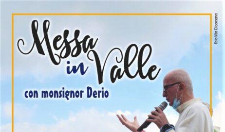 Messe in valle con il vescovo Derio:  primo appuntamento a Pian dell'Alpe
