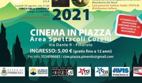 A Pinerolo riparte il Cinema in piazza