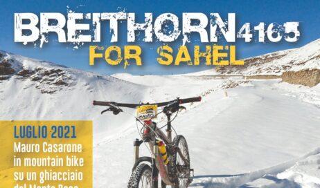 Breithorn 4165 for Sahel. Un'impresa ciclistica per accendere i riflettori sulla sete dell'Africa