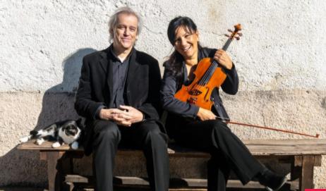 """Pinerolo. """"Domenica in musica"""" con Walter Gatti e Elena Saccomandi"""